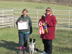 Meredith and Rush March AKC Trial 2014 HIT and RHIT